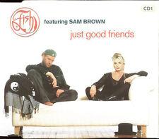 FISH featuring SAM BROWN - Just good friends 3TR CDM 1995 POP ROCK