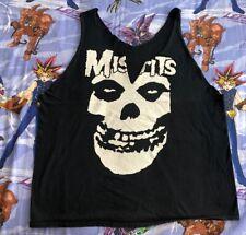 Misfits T-Shirt XL Women's Cut Style Distressed Glenn Danzig skull rock tee