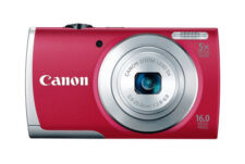 Canon PowerShot A2500 16.0MP Camera Red New In Open Box