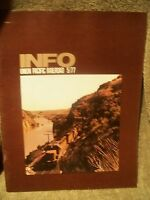 Union Pacific Railroad Employees INFO Magazine 5/1977