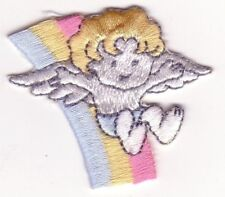 Cupid Angel Pastel Rainbow Embroidery Patch