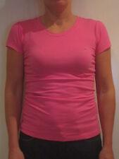 Tommy Hilfiger Denim Crew Neck Shirt [Size L] Ladies T-Shirt Pink New & OVP