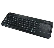 Logitech K400 Wireless Touch Keyboard with Multi-touch Touchpad - Black