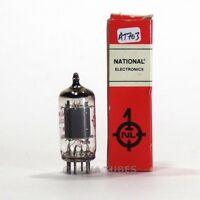 True NOS NIB EI Yugoslavia 12AX7A/ECC83 Long Gray Smooth Plate Tube 100%