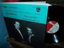 """BEETHOVEN: Piano and violin sonatas n°5 """"spring"""", 4 & 1 > Grumiaux Haskil / ED1"""