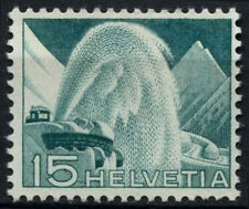 Switzerland 1949-50 SG#513, 15c Turquoise Definitive MNH #D45657
