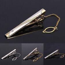 Gentleman Metal Simple Suit Necktie Tie Clip Bar Clasp Practical Tie