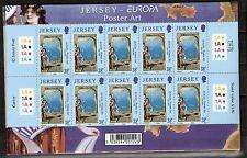 CEPT, Europa 2003 Jersey, Mi 1071/1072 im Kleinbogen, postfrisch, KW 25,00€