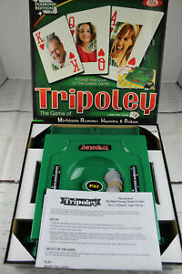 Tripoley Diamond Edition The Game Of Michigan Rummy Hearts & Poker Combined