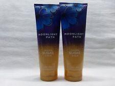 2 Moonlight Path Golden Sugar Scrub Bath & Body Works 8 oz