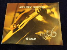 Yamaha Acoustic Guitar Full Color 2006 Product Catalog 42pages   A23