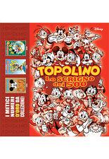 LO SCRIGNO DEI 500 TOPOLINO 500 - 1500 - 2500 PANINI DISNEY SCONTO 10%