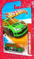 2012 Hot Wheels Citroen C4 Rally #198 Thrill Racers  V5502-09A0E