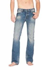 Stylische Herren Jeans Hose Jeanshose 100/% Baumwolle Used Look Waschung NEU ND10