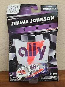 2019 Wave 10 Jimmie Johnson Ally Darlington Throwback 1/64 NASCAR Authentics