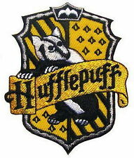 Harry Potter Hufflepuff Wizzard Academy Embroidered Iron Patches