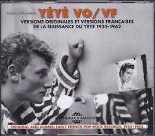 COFFRET 3 CD - YÉYÉ VO/VF - NAISSANCE DU YÉYÉ - 1955-1962