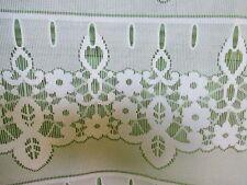 rideaux L 60  cm neuf fleurs  vendu par tranche de 19  cm