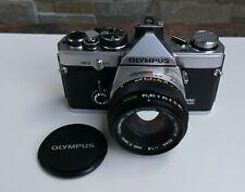 Olympus OM-2 mit 1:1,8 50 mm Objektiv, guter Zustand