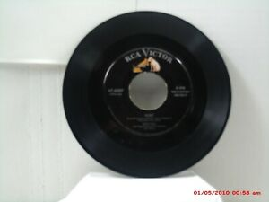 """EDDIE FISHER-(45)-HEART / NEAR TO YOU -BOTH FROM THE MUSICAL """"DAMN YANKEES""""-1955"""