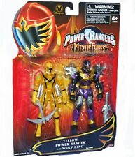 Power Rangers Mystic Force Wolf King Knight & Yellow Ranger New Disney Exclusive