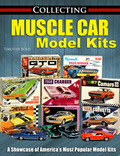 Muscle Car Model Kits Collecting Book Camaro Gto Corvette Chevelle Mustang
