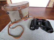 Vintage WWII 2D 1945 6x30 Russian Binoculars Original Leather Case Night Filters