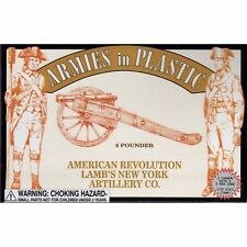 Armies in Plastic Lamb's New York Artillery 6-pdr American Revolution 54mm 1/32