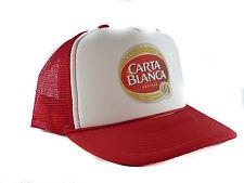 Carta Blanca beer Trucker Hat mesh hat snapback hat red
