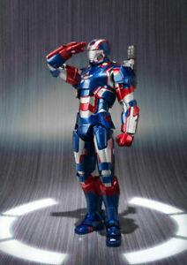 S.H.Figuarts Iron Patriot Iron Man 3 BANDAI SPIRITS from JAPAN