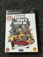 Grand Theft Auto III  Playstation 2 ps2 PAL  Including map