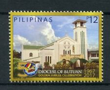Philippines 2017 MNH Diocese of Butuan Golden Jubilee 1v Set Churches Stamps