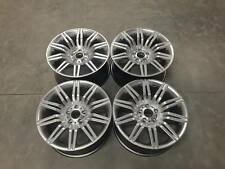 "19"" 535 Spyder Style Wheels - Hyper Silver - CONCAVE Spider BMW 5 Series E60 E61"