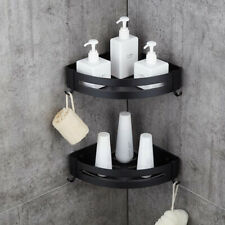 Corner Shower Caddy, Stainless Steel Wall Mounted Bathroom Shelf, Storage