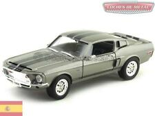 1968 Ford Shelby GT-500KR Gris 1:18 Yat Ming 92168