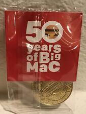 MacCoin 1988-1998 McDonalds 50 Years Of Big Mac Collectors Coin Anniversary