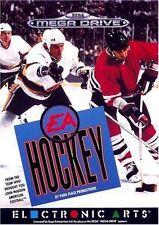 Sega Mega Drive Ice Hockey PAL Video Games with Manual