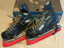 Bauer Ice Skates - Brown Leather - Size 7