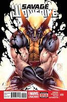 Savage Wolverine #19 Unread New Near Mint Marvel 2014 **16