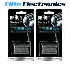 Braun 70s 2 Pack Series 7 Foil & Cutter Cassette Replacement Head Pulsonic 790cc