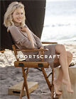 NWT $199 Designer Sportscraft Knit Pure Wool DRESS Camel