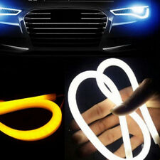 1x 45CM LED Auto Car Flexible DRL Daytime Running Strip Light Soft Tube Lamp