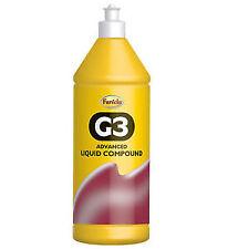Farecla G3 Advanced Liquid Rubbing Abrasive Compound Polish 1 Litre