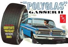 AMT 1/25 1962 Pontiac Catalina Polyglas Gasser II Plastic Model Kit AMT1092