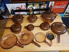 corning visions cookware amber lot of 11 LOCAL PICKUP ONLY