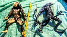 "AVP Alien vs Predator 11"" Action Figures Very Large."