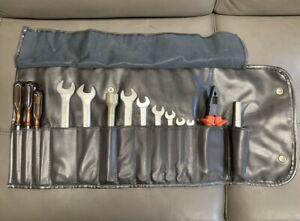 Ferrari Tool Kit Black Roll Bag Leather Pouch 512 BB BBi Very RARE