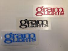 RAYS Genuine Repair Sticker GramLights Red Black Blue for 57D 57DR