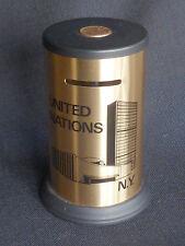 ~ vintage 1980 Still Bank ~ Un United Nations Ny ~