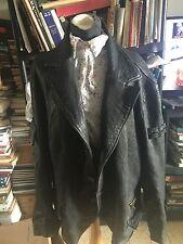 Vera Pelle Lavorazione Artigiana Jacket Coat Size  56 Napa Leather